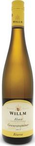 Alsace Willm Gewurztraminer 2016, Ac Alsace Bottle