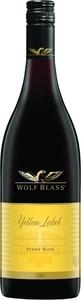 Wolf Blass Yellow Label Pinot Noir 2015, South Australia Bottle