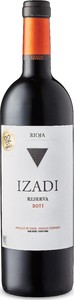 Izadi Reserva 2012 Bottle