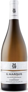 G. Marquis The Silver Line Chardonnay 2016, Niagara Stone Road Vineyard, VQA Niagara On The Lake Bottle