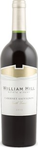 William Hill Cabernet Sauvignon 2014, North Coast Bottle