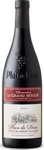 Château Le Grand Retour Plan De Dieu Côtes Du Rhône Villages 2015, Ac Bottle