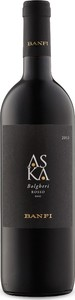 Banfi Aska 2014, Doc Bolgheri Bottle