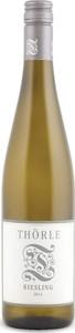 Thorle Riesling Trocken 2015, Rheinhesen Bottle
