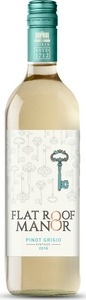 Flat Roof Manor Pinot Grigio 2017, Western Cape Bottle