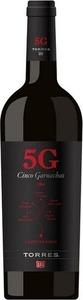 Torrès « 5 G » Cinco Garnacha Campo De Borja 2015 Bottle