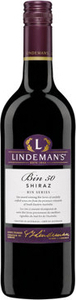 Lindemans Bin 50 Shiraz 2016, South Eastern Australia Bottle