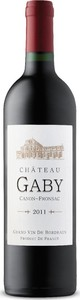 Château Gaby 2011, Ac Canon Fronsac Bottle
