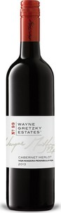 Wayne Gretzky Estates No. 99 Cabernet Merlot 2015, VQA Niagara Peninsula Bottle