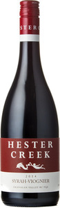 Hester Creek Syrah Viognier 2015, Okanagan Valley Bottle