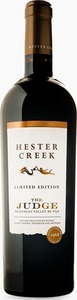 Hester Creek The Judge 2014, Golden Mile Bench Bottle