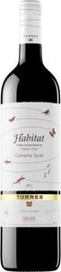 Torres Habitat Garnacha/Syrah Organic 2015, Do Catalunya Bottle