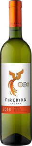 Firebird Legend Pinot Grigio 2016, Moldova (Dk Intertrade) Bottle