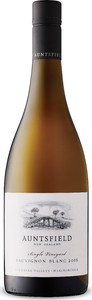 Auntsfield Single Vineyard Sauvignon Blanc 2016, Southern Valleys Bottle