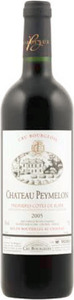 Château Peymelon 2006, Ac Premières Côtes De Blaye Bottle
