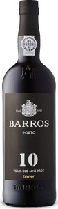 Barros 10 Year Old Tawny Port, Dop Bottle