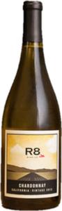 R8 Wine Co Chardonnay 2013 Bottle