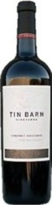 Tin Barn Vineyards Cabernet Sauvignon 2013, Sonoma County Bottle