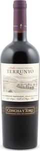 Concha Y Toro Terrunyo Andes Pirque Vineyard Cabernet Sauvignon 2014, Las Terrazas Block, Pirque Vineyard, Maipo Valley Bottle