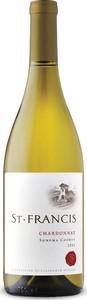 St. Francis Chardonnay 2015, Sonoma County Bottle