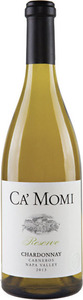 Ca' Momi Reserve Chardonnay 2013, Carneros, Napa Valley Bottle