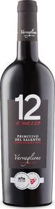 12 E Mezzo Primitivo Del Salento 2015, Igp Bottle