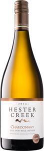 Hester Creek Chardonnay 2016, Golden Mille Bench, Okanagan Valley Bottle