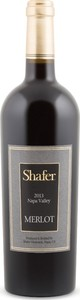 Shafer Merlot 2014, Napa Valley Bottle