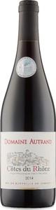 Domaine Autrand Côtes Du Rhône 2015, Ap Bottle