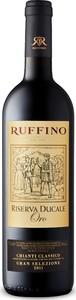 Ruffino Ducale Oro Gran Selezione Riserva Chianti Classico 2012, Docg Bottle
