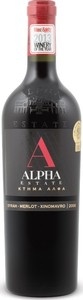 Alpha Estate Red 2013, Unfiltered, Pgi Florina Bottle