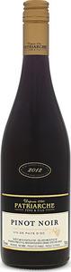 Patriarche Pinot Noir 2015, Vin De Pays D'oc Bottle