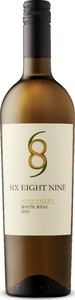 Six Eight Nine White Wine 2015, Napa Valley Bottle