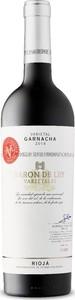 Barón De Ley Varietals Garnacha 2014, Doca Rioja Bottle