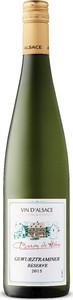 Baron De Hoen Réserve Gewurztraminer 2015, Ac Alsace Bottle