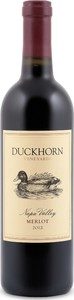 Duckhorn Merlot 2014, Napa Valley Bottle