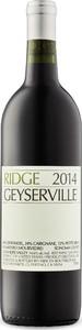 Ridge Geyserville 2015, Alexander Valley, Sonoma County Bottle
