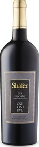 Shafer One Point Five Cabernet Sauvignon 2014, Stags Leap District, Napa Valley Bottle