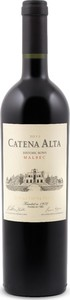 Catena Alta Historic Rows Malbec 2014 Bottle