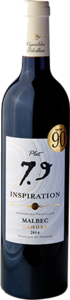 Inspiration Plot 753 Malbec 2014, Ac Cahors Bottle