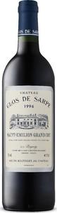 Château Clos De Sarpe 1996, Ac Saint émilion Grand Cru Bottle