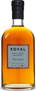 Koval Organic Single Barrel Four Grain Whiskey, Illinois Bottle