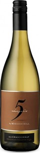 Mission Hill 5 Vineyards Chardonnay 2015, VQA Okanagan Valley Bottle