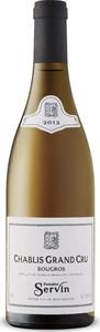 Domaine Servin Bougros Grand Cru Chablis 2013, Ac Bottle