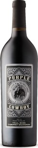 Purple Cowboy Trail Boss Cabernet Sauvignon 2015, Paso Robles Bottle