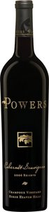 Powers Cabernet Sauvignon Champoux Vineyards 2012 Bottle