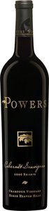 Powers Cabernet Sauvignon Champoux Vineyards 2013 Bottle