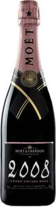 Moët & Chandon Grand Vintage Brut Rosé Champagne 2008, Ac Bottle