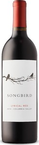 Songbird Lyrical Red 2014, Columbia Valley Bottle