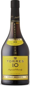 Torres 10 Gran Reserva Brandy Bottle